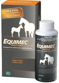 Equimec Triple Liquid Stable Pack Merial