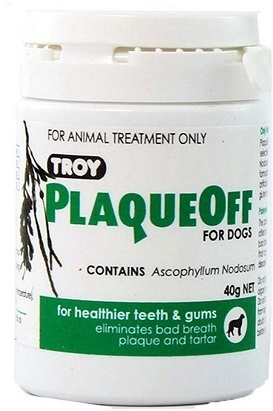 Troy Plaqueoff For Dog