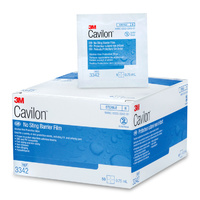3M Healthcare Cavilon™ No Sting Barrier Film Wipes box 30 wipes