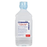 SODIUM CHLORIDE 0.9% 1000ML POUR BOTTLE FOR IRRIGATION