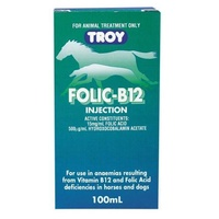 Troy Folic-B12 Injection 100ml