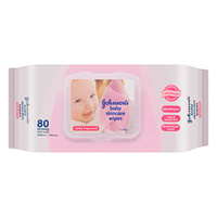 Johnson's Baby Skincare Wipes Lightly Fragranced 80's