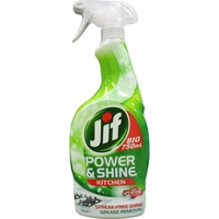 Jif Power & Shine Kitchen Surface Spray 750mL