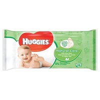 Huggies Wipes Natural Care 56's