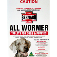 St Bernard All Wormer Tablets for Dogs and puppies