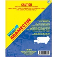 WSD Abamectin Sheep 1ltr