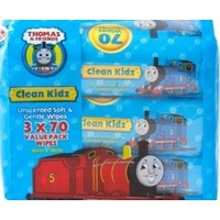 Thomas & Friends Clean Kidz Unscented Wipes 3