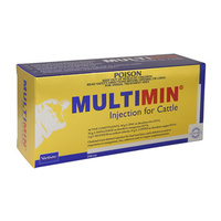 Multimin Injection for Cattle 500ml Virbac
