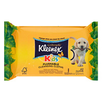 Kleenex Cottonelle Flushable Cleansing Cloths 42's