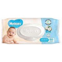 Huggies Wipes Coconut Oil 80's