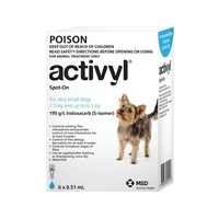 Activyl For Dogs 1.5-6.5kg Very Small