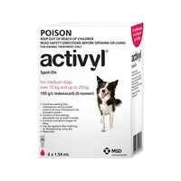 Activyl Medium Dog 10-20kg