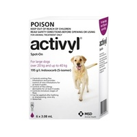 Activyl For Large Dogs 20-40kg