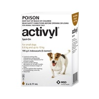 Activyl For Dogs 6.6-10kg Small