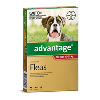 Advantage Dog 10-25kg Red