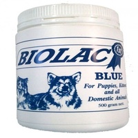 Biolac Blue for Puppies,kittens,domestic anim 500g