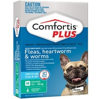 COMFORTIS PLUS 9.1-18KG CHEWABLE GREEN DOG