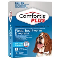 COMFORTIS PLUS 18.1-27KG CHEWABLE BLUE DOG