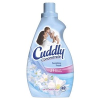 Cuddly Concentrate Fabric Conditioner 1l