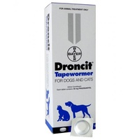 Droncit Tapewormer for Dogs and Cats