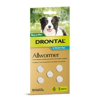 Drontal Med Dog 10kg Per  Tablet