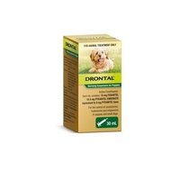 Drontal Worming Suspension 30ml Dogs and Puppies