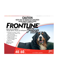 Frontline Plus X Large Dogs 40-60kg red