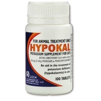 Hypokal Potassium Supplement 100 Tab
