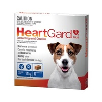 Heartgard Plus Blue Chew up to 11kg