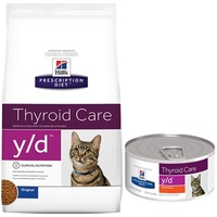 HILLS PRESCRIPTION DIET FELINE Y/D THYROID HEALTH