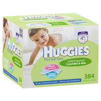 Huggies Wipes Cucumber & Aloe