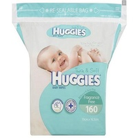 Huggies Unscented Refill