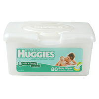 Huggies Unscented Wipes - Pop up Tub