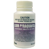 ILIUM PYRAQUANTAL DOG WORMER 10KG
