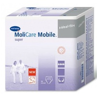 MOLICARE MOBILE BRIEF INCONTINENCE PULLUP SUPER