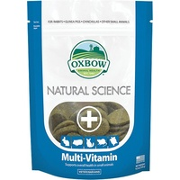 Oxbow Natural Science Multi-Vitamin Hay Tabs 60's
