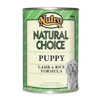 NUTRO PUPPY LAMB AND RICE 400G X 12