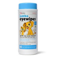 PetKin Eye Wipes 30