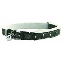 Rogz Fluffycat Safelock Collar black