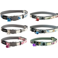 Rogz Glowcat Safelock Cat Collar
