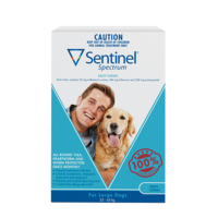 Sentinel Spectrum Blue Large Dogs 22-45kg
