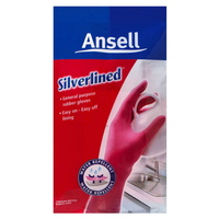 Ansell Silverlined Premium Gloves - Pink
