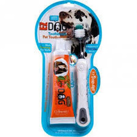 Triple Pet EZ Dog toothbrush & toothpaste kit Large