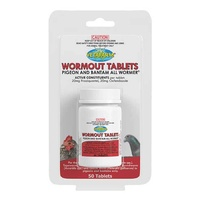 Vetafarm Pigeon and Bantam Wormout Tablets 50