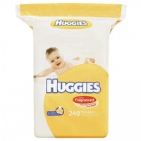 Huggies Wipes Shea Butter 240's