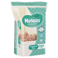 Huggies Wipes Unscented Refill