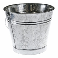 Galvanised bucket - 11 LITRE