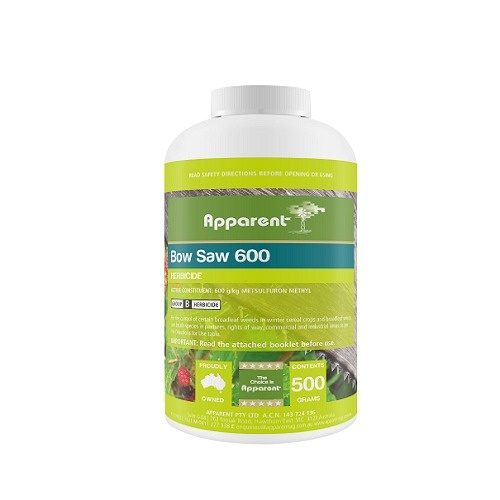 Apparent Bow Saw Metsulfuron 600 Wg Herbicide 500g Eqiv