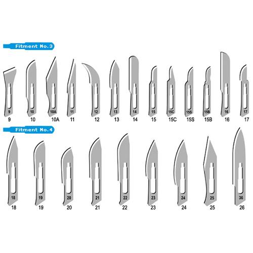 TAMSCO Scalpel Handles, All Types & Sizes 1/pk #TM-1600