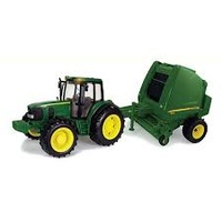 JD Big Farm Tractor Bailer